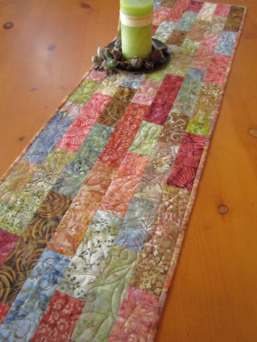 quilted fall table runner for sale