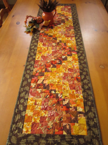 Autumn Leaves Table Runner for sale