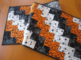 Quilted Table Runner Halloween Decor