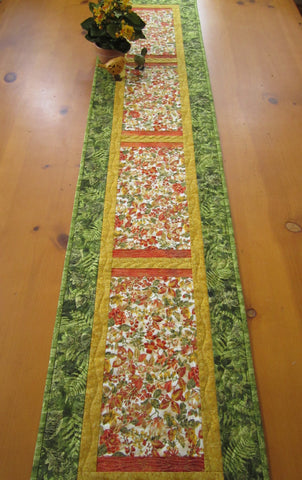 Table Runner Fall Colors