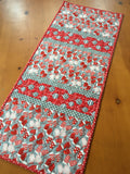 Christmas Ornaments and Mittens Table Runner