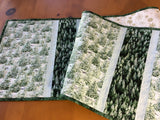 Winter Trees Quilted Table Runner Home Decor