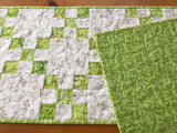 Table Runner Green Home Decor Accent