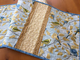Table Runner with Birds on Branches Handmade Home Decor