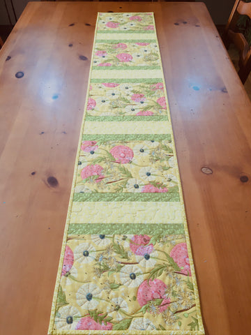 CUSTOM ORDER Floral Table Runner