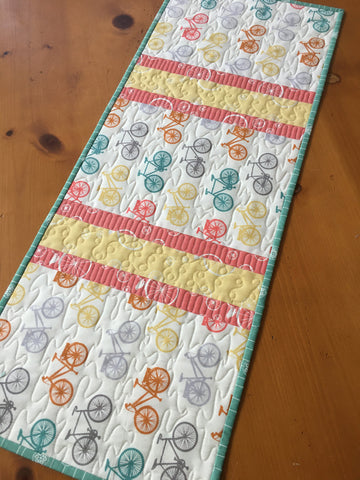 Bicycles Table Runner