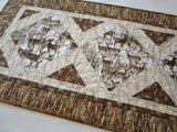 Quilted Table Runner with Deer
