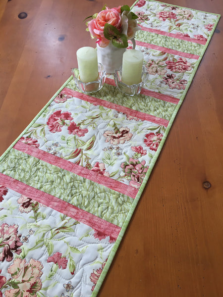 Floral Table Runner Home Decor Gift