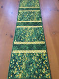 Table Runner Yellow Flowers Field of Grasses Spring Summer Decor