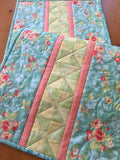 Floral Table Runner Handmade Home Decor