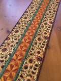 Table Runner with Sunflowers Fall Home Decor
