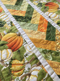 Pumpkins and Gourds Fall Table Runner