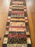 Table Runner Quilted Fall Rustic Handmade Home Decor