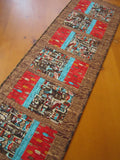 Table Runner with Totem Poles and Arrows