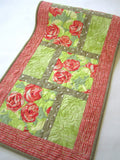 Spring Table Runner with Roses