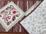 Table Runner Floral Quilted Home Decor