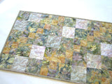 Batik Table Runner in Subtle Colors