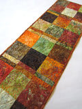Fall Leaves Batik Table Runner