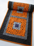 Bats and Spiders Halloween Table Runner