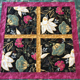 Floral Table Topper Asian Inspired