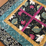 Table Topper Floral Asian Inspired