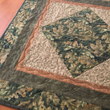 Table Topper Oak Leaves Fall Home Decor