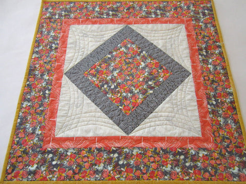 Quilted Table Topper Floral
