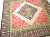Quilted Floral Table Topper