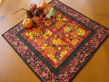 Autumn Flowers Table Topper