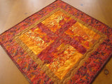 Autumn Quilted Table Topper