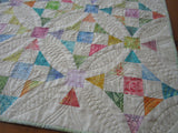 Spring Easter Quilted Table Topper