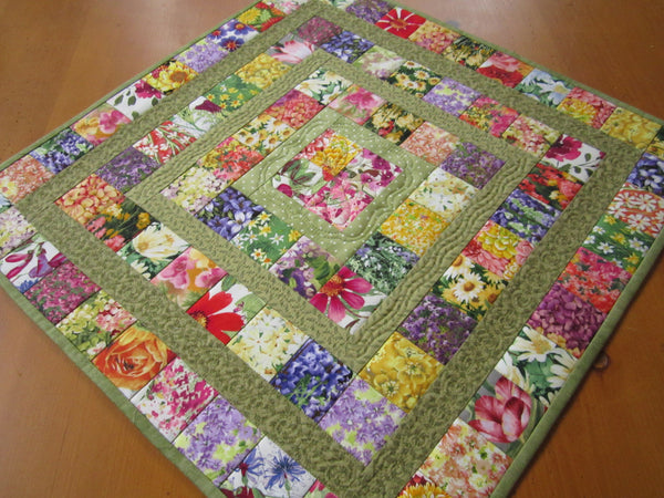 Floral Table Topper
