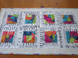 Quilted Modern Table Topper