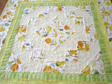 Table Topper with Lemons for Summer Decor