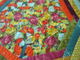Handmade Table Topper Bright Colorful Summer Decor