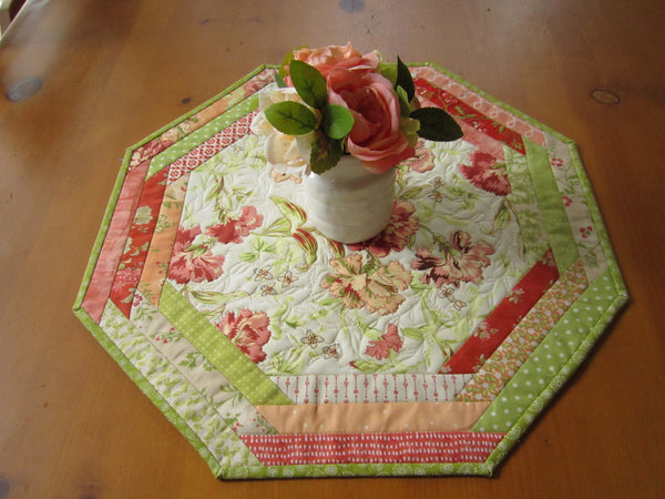 Table Topper Octagon handmade