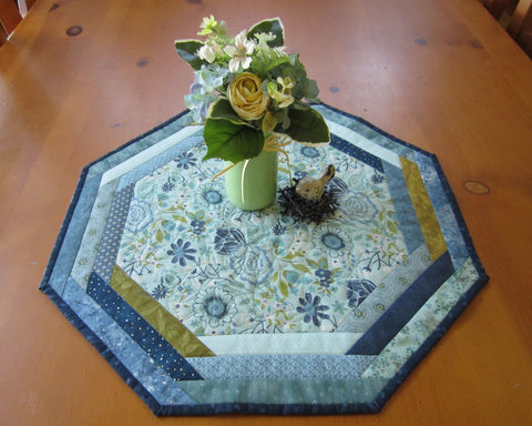 table topper octagon handmade table mat