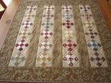Table Topper Civil War Reproduction Small Quilt