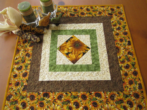 Sunflowers Table Topper for sale