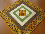 Table Topper Fall Decor with Sunflowers