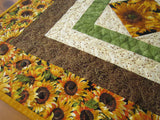 Table Topper Fall Sunflowers