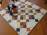 Halloween Quilted table topper for sale
