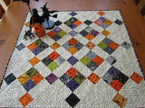 Halloween Quilted Table Topper Centerpiece