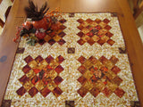 Table Topper Autumn Colors Fall Decor