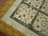 Quilted Floral Tabletop