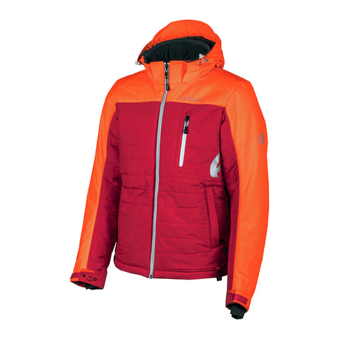 Olympia Anchorage Snowmobile Jacket-Orange/Red