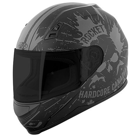 Joe Rocket 7 Series Hardcore Canadian Helmet - Motor Sports World - 1