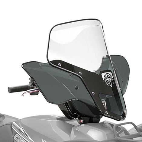 Yamaha Quick-Release Standard Fairing in Grey - Motor Sports World
