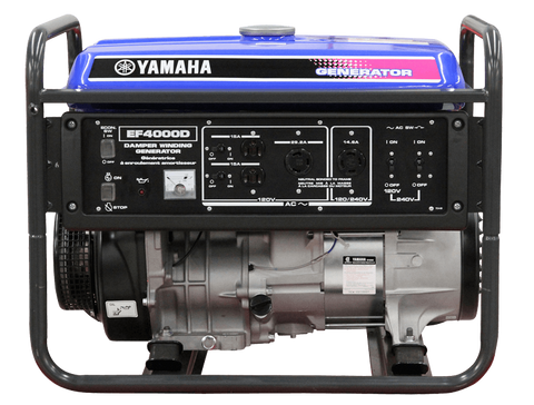 Yamaha EF4000D Premium Generator - Motor Sports World