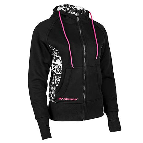 Joe Rocket Ladies Armoured Hoody - Motor Sports World